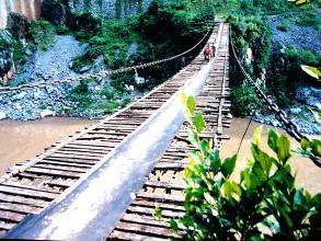 水城高家渡铁索桥